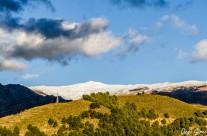 Sierra Nevada vista desde Cónchar