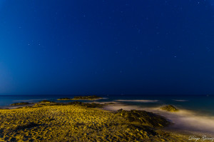 playa nocturna estrellas larga exposición  tokina 11-16 para facebook