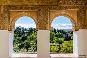 Verde Generalife Alhambra tokina enfoque y foto para facebook
