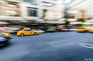 barrido taxi nyc blog del fotografo premio para facebook