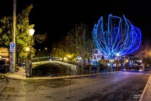 panorámica pinos genil navidad luces d750 para enfoque y foto para facebook