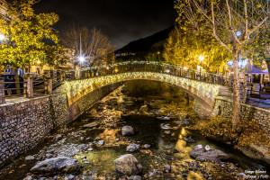 pinos genil puente luces de navidad nikon d750 enfoque y foto para facebook