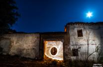 Lana en las ruinas