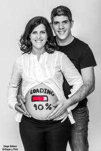 embarazada loading sesión d750 para enfoque y foto para facebook