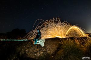 lana de acero nocturna estrellas d750 para enfoque y foto para facebook