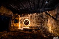 Fuego en el molino