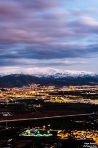 sierra nevada desde ermita enfoque y foto para facebook
