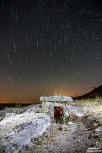 dolmen gorafe larga exposición enfoque y foto para facebook