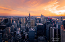 """Sunset in Manhattan"""