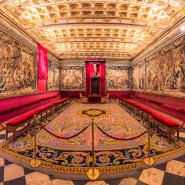 Sala capitular en Segovia