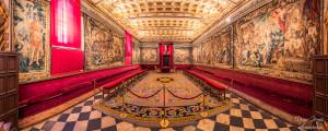 sala capitular catedral segovia panorámica