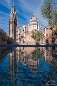 toledo catedral reflejo para facebook enfoque y foto