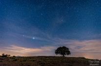 No todo es Vía Láctea en una salida nocturna